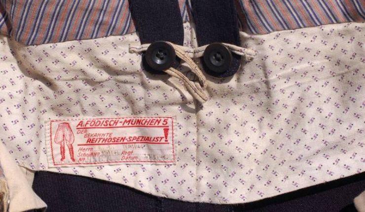 KM/ Breeches de Oficial de 1940